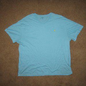 Polo Ralph Lauren Shirt Blue Yellow 3XB Casual